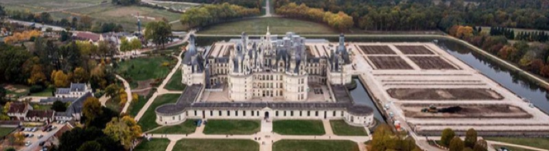 Chambord : les jardins du château restaurés et ouverts au public
